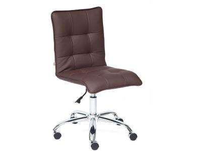 Кресло Zero кож.зам Коричневый (36-36)