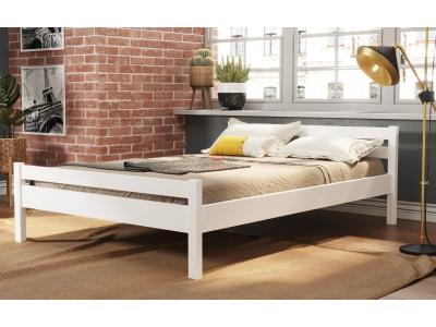 Кровать-13 двойная из массива Фант