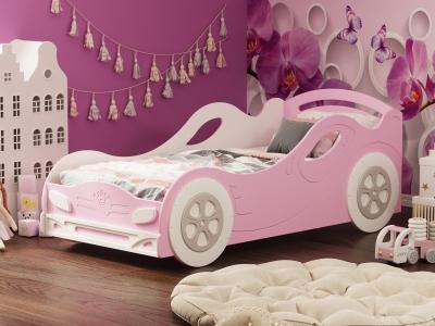 Кровать №2 Омега 12 МДФ девочка