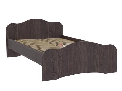 Кровать-5 двойная Фант ясень анкор темный
