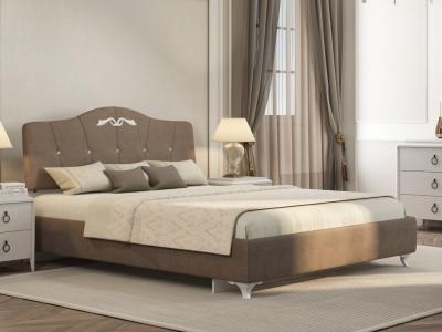 Кровать Adelina 1 Ажур 22 коричневый