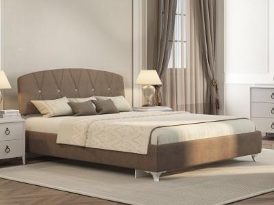 Кровать Adelina Ажур 22 коричневый