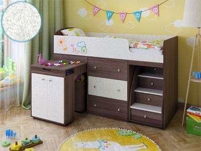 Кровать-чердак Малыш бодега фасад для рисования феритейл