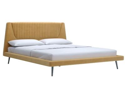 Кровать Дольче 160 c основанием аврора йеллоу