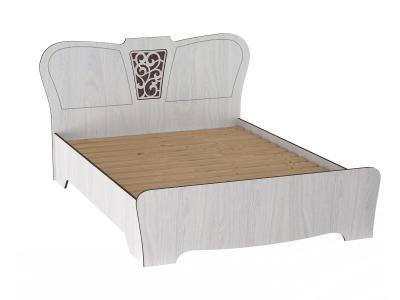 Кровать двойная 1600 Ольга 12 ЛДСП