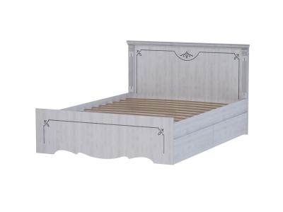 Кровать двойная 1600 Ольга 1н с двумя ящиками