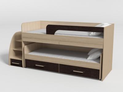 Кровать двухъярусная №11 венге