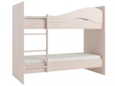 Кровать двухъярусная Мая млечный дуб