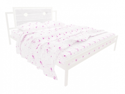 Кровать Инесса белая
