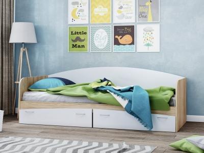 Кровать КР-1 с ящиками
