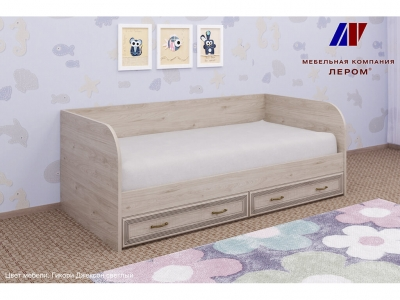 Кровать КР-1042 900х1900 Гикори Джексон светлый