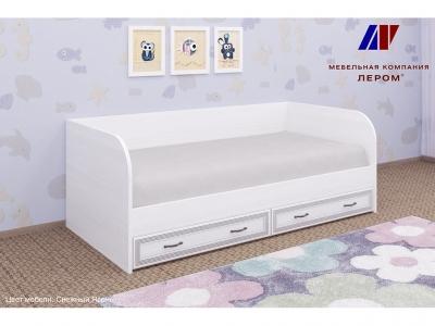 Кровать КР-1042 900х1900 Снежный Ясень