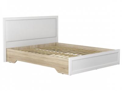 Кровать КР-34 с ортопедическим основанием МС Ривьера Белый