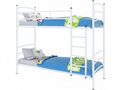 Кровать Милана duo белая
