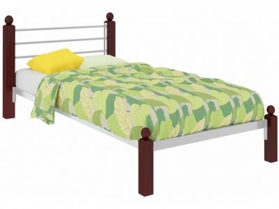 Кровать Милана Мини Lux белая