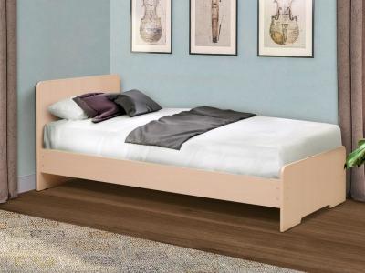 Кровать одинарная на уголках №5 Матрица