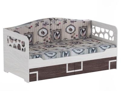 Кровать одинарная с подушками Омега 16