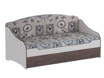 Кровать одинарная с подушками Омега 18