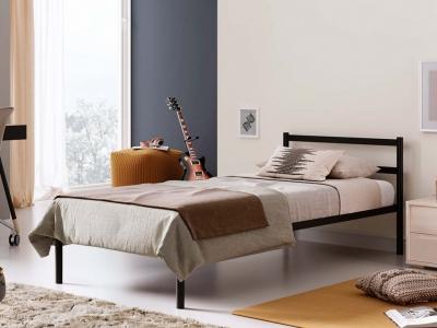 Кровать разборная металлическая с ортопедическим основанием Мета 900