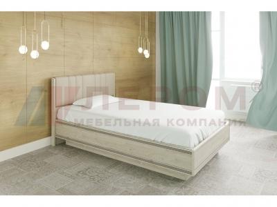 Кровать с мягким изголовьем КР-1011 1200х2000 Гикори Джексон светлый