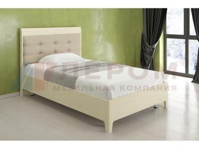 Кровать с ортопедическим основанием КР-2072 1400х2000 Дуб Беленый
