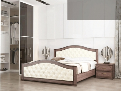 Кровать Стиль 1 с мягкой спинкой