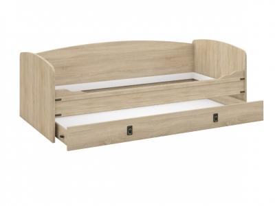 Кровать-топчан Валенсия Дуб сонома с настилом