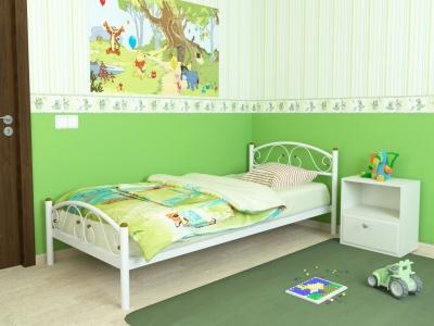 Кровать Вероника Мини Plus белая