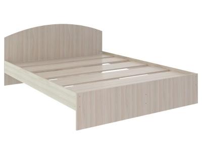 Кровать Веста 1.4 без ящика 2040x1440x700 дуб млечный