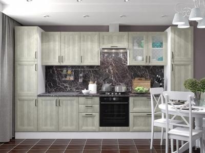 Кухня Винтаж дуб седой