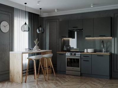 Кухонный гарнитур Антрацит-2000