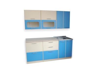Кухонный гарнитур Ирбея 1.8 синий
