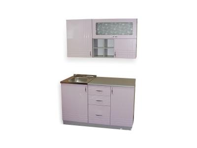 Кухонный гарнитур Ирбея 4.3 МДФ розовый
