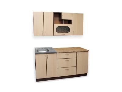 Кухонный гарнитур Ирбея 4.6 древесный