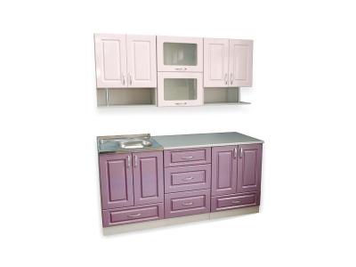 Кухонный гарнитур Ирбея 4.7 МДФ фиолетовый