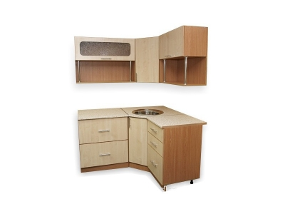 Кухонный гарнитур Ирбея 6.1.5 А древесный