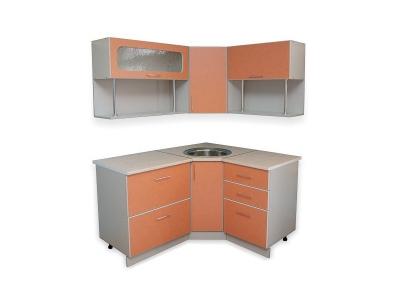 Кухонный гарнитур Ирбея 6.1.5 А оранжевый