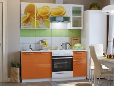 Кухонный гарнитур Риал Эко 1800 лимоны