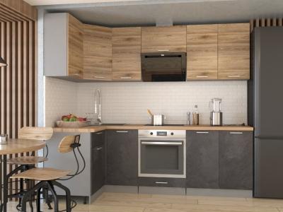 Кухонный гарнитур угловой Лофт