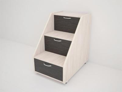 Лесенка для кровати Радуга 695х485х695