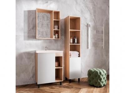 Мебель для ванной Александра цвет белый