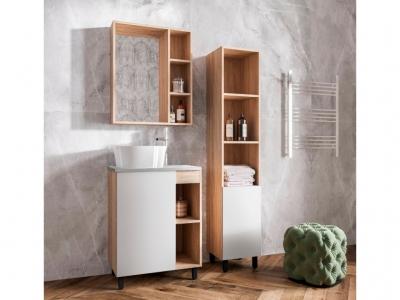Мебель для ванной Александра со столешницей цвет белый
