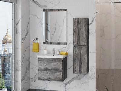 Мебель для ванной Изабелла зебрано 60