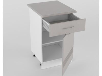 Нижний шкаф Н 500 1 ящик 1 дверь 850х500х600 Волна