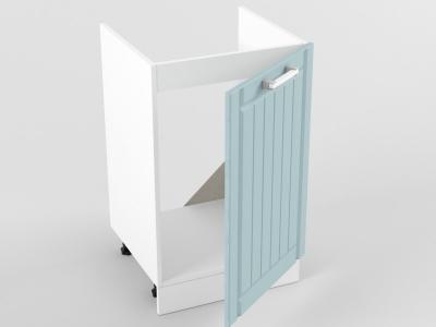 Нижний шкаф Н 500 мойка 1 дверь 822х500х473 Прованс Роялвуд голубой