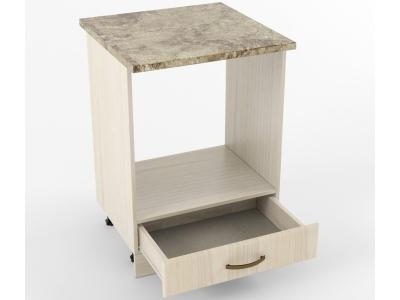Нижний шкаф Н 600 плита 850х600х600 Грецкий орех