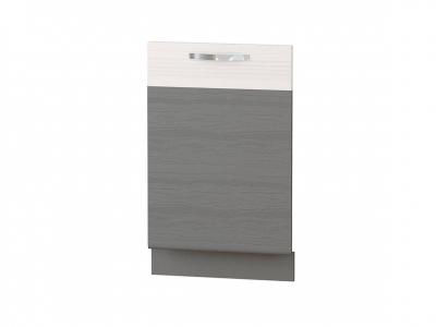 Панель для посудомоечной машины на 600 74.69 Графит 600х820