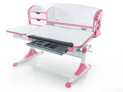 Парта Mealux Aivengo - L BD-720 WP розовая