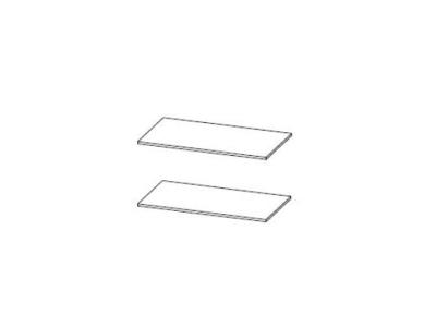 Полки для шкаф универсальный Степ 1 932х512 2 шт.