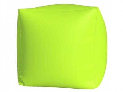 Пуфик Куб макси нейлон салатовый люмин